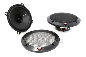 "Rockford Fosgate Prime R1525X2 80 W 5.25"" 2-Way Full Range Car Speakers 5-1/4"""