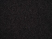 Seed Beads 2mm Dark Brown Opaque 50g Glass Necklaces Bracelets Postage
