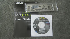 ASUS I/O SHIELD / Backplate / Manual and Software bundle for P8H77-i - OEM