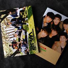 K-POP 2PM MINI PHOTOBOOK 64P + 2PM PHOTO MONTHLY DIARY 64P
