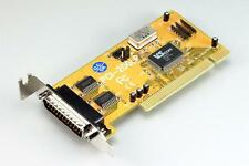 2-port RS232 serial PCI-bus (32-bit) card, low-profile/half height, VSCom brand