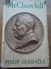 1941 1st Edition MR CHURCHILL A PORTRAIT by Philip Guedalla Winston Churchill