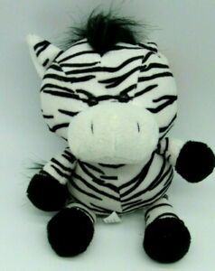 "Ganz Whimsey Pets 9"" Zebra NWT plush"
