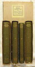 K. Domanig - Gesammelte Werke - 5 Bände - Mit Schubern - 1914 (A)