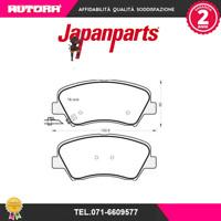 PAK24AF-G Kit pastiglie freno a disco ant Hyundai-Kia (JAPANPARTS)