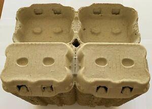 50-146-292 NEW 1/2 DOZEN EGG BOXES/CARTONS FOR MEDIUM/LARGE CHICKEN EGGS(VAT INC