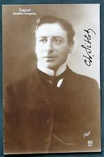 French Actor Charles Siblot of the Comédie Française signed real photo postcard