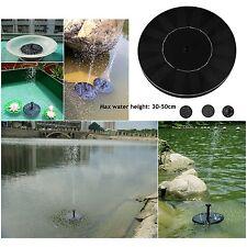 Solar Teichpumpe Mini Springbrunnen Teichpumpe Solarbrunne  Garten Wasserspiel