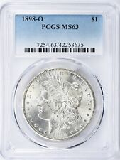 1898-O MORGAN SILVER DOLLAR PCGS MS-63