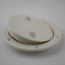 Single 4'' Round Access Hatch Cover Lid Screw Out Deck Marine Grade