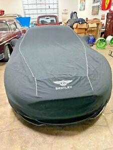 Authentic Bentley Continental GT Indoor (Black) Car Cover With Embroidery!