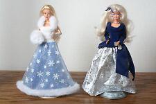 Barbie Winter Velvet & Snow Sensation Barbie with Stands No Box