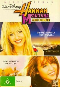 Hannah Montana - The Movie DVD (Region 1, 2009) Free Post