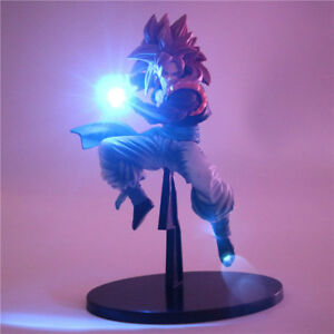 Dragon Ball Z Super Saiya Goku Vegeta Power Up Led Light Action Figure Toys NEW