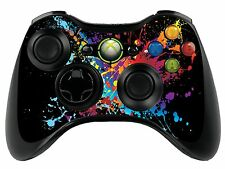 Pintura Splat Xbox 360 Control Remoto controller/gamepad Skin / Cover / Vinilo xbr30