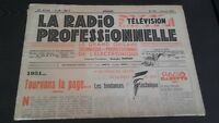 Journal Monthly La Radio Professional N°191 January 1951 ABE