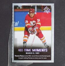 THEOREN FLEURY  2015/16 SP All-Time Moments #139  Calgary Flames