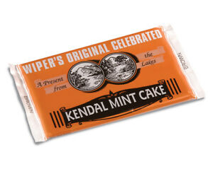 Kendal Mint Cake  Wipers Original Brown Kendal Mintcake  Pack of  2 x 170g Bars