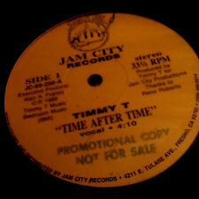 """TIMMY T - TIME AFTER TIME - 12"""" VINYL 1989 MINT IN SHRINK 1ST PRESS"""