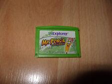 Leapfrog Explorer Mr Pencil LeapPad 1 2 3 Ultra Platinum ultra book Game Cart