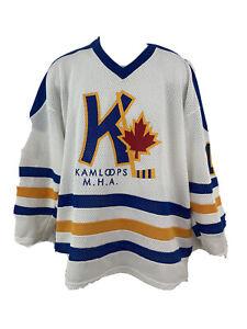 Kamloops MHA Minor Hockey Assn Canada Mens Hockey Jersey Dapper Size XL #14