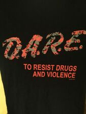 DARE T Shirt To Resist Drugs And Violence Digital Camo Size Large L