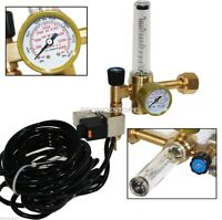 Lot 2 Extoic CO2 Injection System Regulator Grow Hydroponics Flow Meter Controls