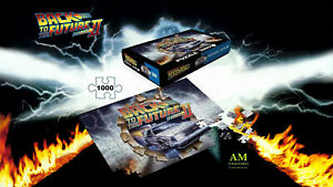 SD Toys Puzzle - Back to the Future II To The Future - 1000 Pieces New