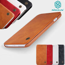 For iPhone 12 11 Pro Xs Max Case Genuine Nillkin Flip Wallet Leather Card Cover
