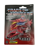 Transformers More than Meets the Eye! G1 WalMart Reissue AUTOBOT WARPATH New