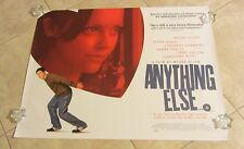 Anything Else movie poster - Christina Ricci, Jason Biggs, Woody Allen