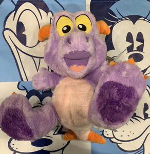 """Disney Parks Little Big Feet Foot 10"""" EPCOT Figment Plush New With Tags Cute!"""