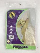 "Rubie's Pet Costumes Puppy Dog Princess Hat Veil Cape Collar Pink Large 18""-20"""
