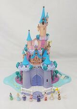 Polly Pocket Disney Cinderella Enchanted Castle 1995 figures. FEUX TRAVAIL