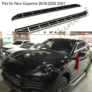 Nerf Bar Running Boards Side Steps Fits for Porsche Cayenne 2018-2021 2pcs pedal