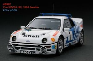 LAST ONE! HPI #8842 Ford RS200 1986 Swedish Rally 1/43 model