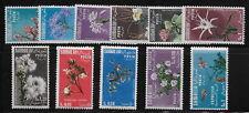 SOMALIA  1955  Flowers   MNH-VF   #  Mich. 297-307