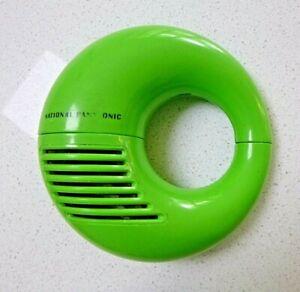 "RARE GREEN PANASONIC R-72  ""TOOT-A-LOOP"" TRANSISTOR RADIO"