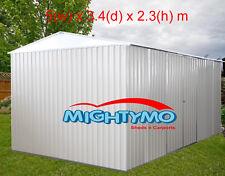 Garden Shed 5.0x3.4x2.3m Large Steel, Storage, Workshop, Garage, Yard Sheds
