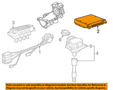 BMW OEM 96-98 318i-ECM PCM ECU Engine Control Module Computer 12141439330