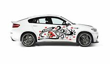 MINNIE MOUSE DECAL GRAPHIC VINYL w TRIBAL DESIGN FOR SIDE OF CAR OR TRUCK