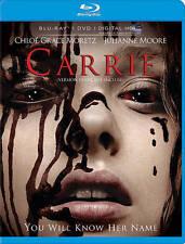 Carrie (Blu-ray/DVD/DIGITAL HD, 2013, 2-Disc, WS) Chloe Grace Moretz  NEW