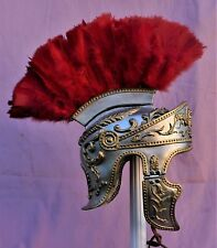 Gold & silver Emperor Augustus Roman Officer helmet Legate Tribune Praetorian