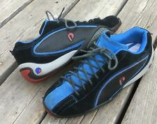 Men's Piloti Sebring Driving Track Shoes Sz 7 Blue Suede Leather