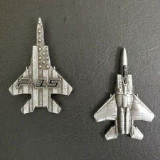 F-15 Eagle Military Aircraft Shaped Challenge Coin