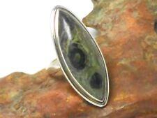 Star  Galaxy  JASPER  Sterling  Silver  925  Gemstone  RING  -  Size : S