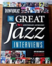 DownBeat The Great Jazz Interviews A 75th Anniversary Anthology Book 2009