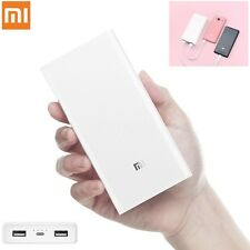 Original 20000mAh Xiaomi Power Bank 2C USB Quick Charge 3.0 Fast Mobile Charger