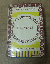 THE YEARS by Virginia Woolf - HCDJ 1st/6th UK - 1972  VG  - Hogarth