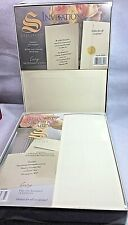 Southworth Invitations Ivory Large Card Envelope Foil Seals Response Cards New